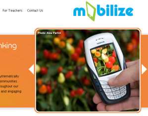 screenshot from mobilize website