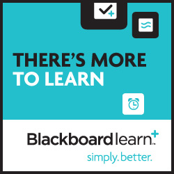 There's More to Learn_Blackboard logo